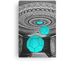 Dodecahedron Manifestation Canvas Print