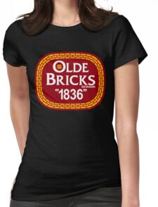 'Olde Bricks' Womens Fitted T-Shirt