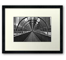 Atlanta Hallway Framed Print