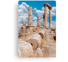 The Citadel, Amman Canvas Print