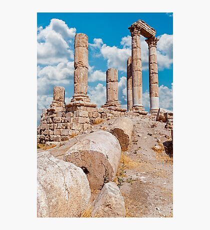 The Citadel, Amman Photographic Print