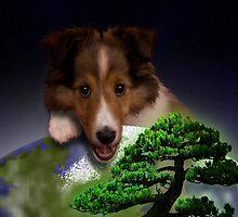 Happy Arbor Day Sheltie by jkartlife
