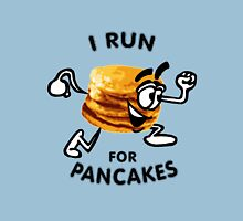 I Run For Pancakes! (Design #1 - BLACK) Unisex T-Shirt