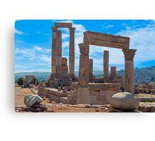 The Citadel2, Amman Canvas Print