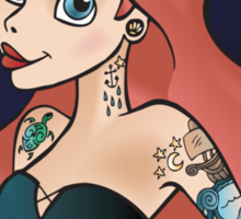 Disney Princesses with attitude - Ariel Sticker