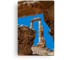 The Citadel3, Amman Canvas Print