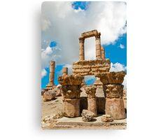 The Citadel4, Amman Canvas Print