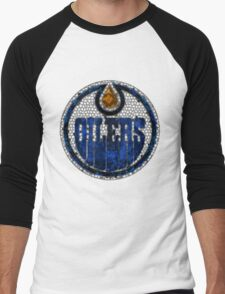 Edmonton Oilers Men's Baseball ¾ T-Shirt