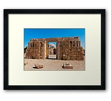 The Citadel Mosque, Amman Framed Print