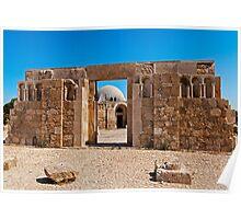 The Citadel Mosque, Amman Poster