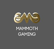 Mammoth Gaming iPhone Case by MammothGaming