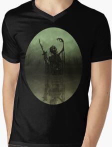 Deathknight Mens V-Neck T-Shirt
