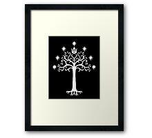 White Tree of Gondor! Framed Print