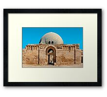 The Citadel Mosque2, Amman Framed Print