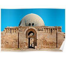 The Citadel Mosque2, Amman Poster