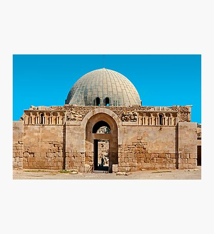 The Citadel Mosque2, Amman Photographic Print
