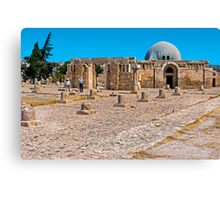 The Citadel Mosque3, Amman Canvas Print