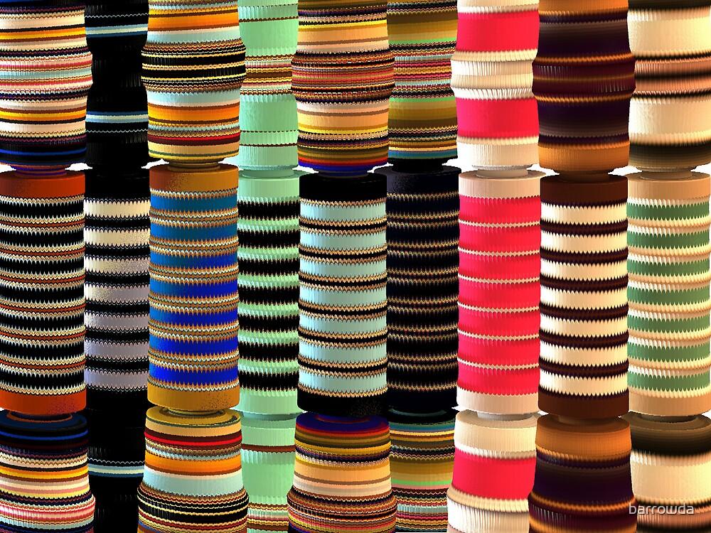 Mandelbulb Towers: The Full Spectrum   by barrowda