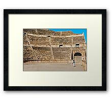 The Roman Theatre2, Amman Framed Print