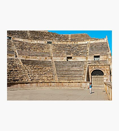 The Roman Theatre2, Amman Photographic Print
