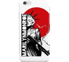 Monroe Shooter iPhone Case/Skin
