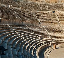 The Roman Theatre3, Amman by bulljup
