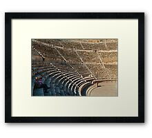 The Roman Theatre3, Amman Framed Print