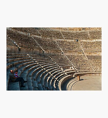 The Roman Theatre3, Amman Photographic Print