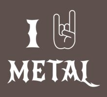 I Love Metal Music by keepers