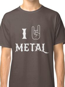 I Love Metal Music Classic T-Shirt