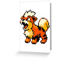 Pokemon - Growlithe Greeting Card