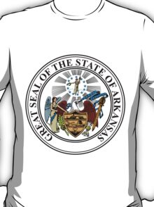 Arkansas | State Seal | SteezeFactory.com T-Shirt