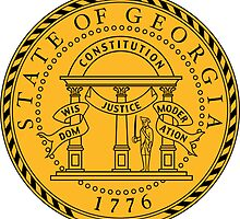 Georgia | State Seal | SteezeFactory.com by FreshThreadShop