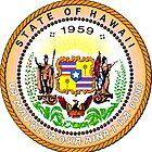 Pink Grapefruit | Hawaii State Seal | SteezeFactory.com by FreshThreadShop