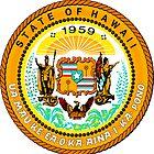 Sunset Hawaii | State Seal | SteezeFactory.com by FreshThreadShop