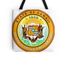 Sunset Hawaii | State Seal | SteezeFactory.com Tote Bag