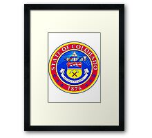 Colorado | State Seal | SteezeFactory.com Framed Print