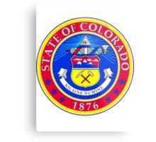 Colorado | State Seal | SteezeFactory.com Metal Print