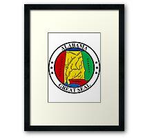 Alabama   State Seal   SteezeFactory.com Framed Print