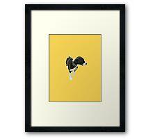 Goldenrod Puppy Framed Print