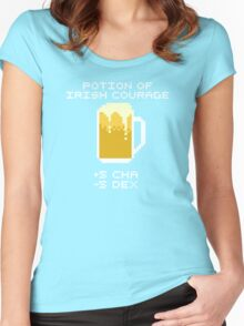 Potion of Irish Courage Women's Fitted Scoop T-Shirt