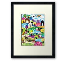 United Colors of Nature Framed Print