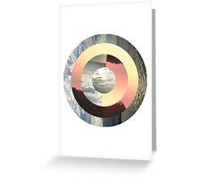 Circular Photography Design Greeting Card