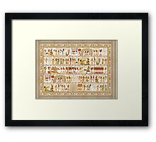 Ancient Egypt Party Framed Print