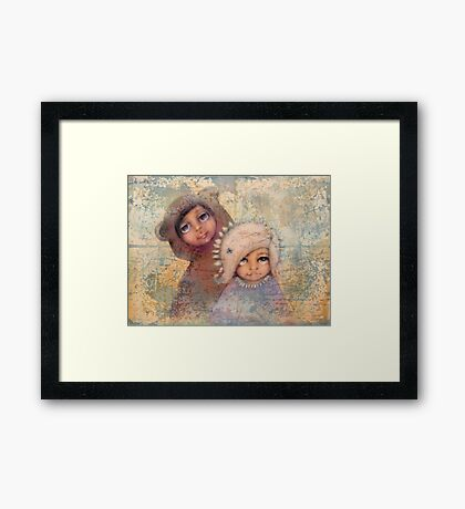 dream your way Framed Print