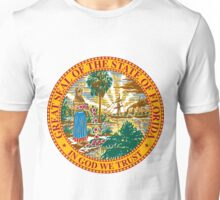 Florida | State Seal | SteezeFactory.com Unisex T-Shirt