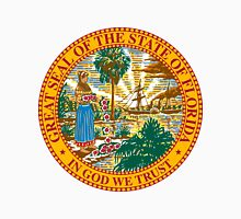 Florida   State Seal   SteezeFactory.com Unisex T-Shirt