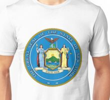 New York | State Seal | SteezeFactory.com Unisex T-Shirt