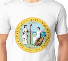 North Carolina | State Seal | SteezeFactory.com Unisex T-Shirt