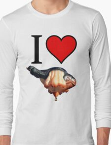 I <3 Skywhale Long Sleeve T-Shirt
